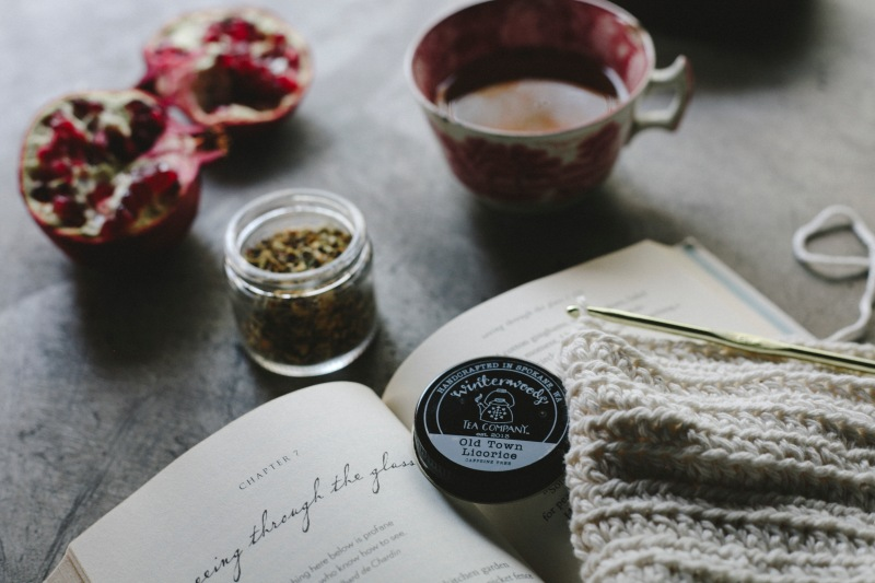 Winterwoods Tea Company | Product Photography & Styling by Dana Muchow